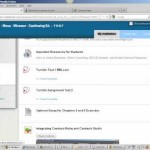 Quickly navigate from one course to another in Blackboard