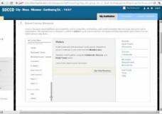 Blackboard Course Structures – Customization