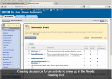 "Setting Discussion posts to show up in ""Needs Grading"""