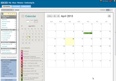 Creating a Calendar Entry