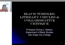 Black (W)holes: Literary Circles & Collaborative Critique