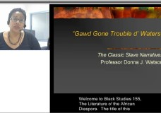 Gawd Gone Trouble d' Waters: The Classic Slave Narratives