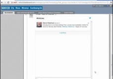 Embed a Twitter Stream Into Your Blackboard Course