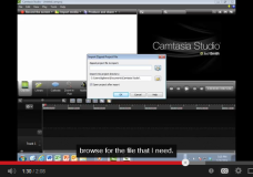 Zipping Up Your Camtasia Studio Project for Transfer
