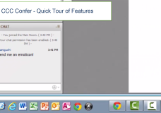 CCC Confer – Quick Tour of Features