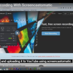 Webcam Recording With Screencastomatic