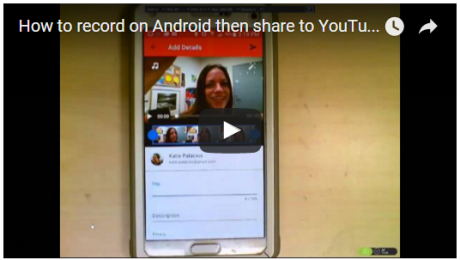 How to Record on Android and Upload to YouTube