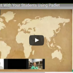 Sharing Online Content With Your Students Using Padlet.