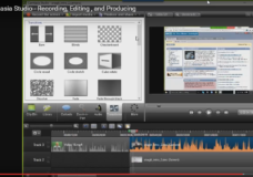 Camtasia Studio – Recording, Editing , and Producing