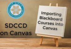 Transferring Courses From Blackboard to Canvas