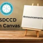 Canvas Announcements