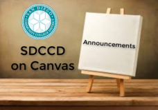 Canvas Announcements
